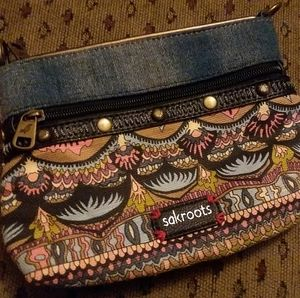 Sakroots Wristlet/Crossbody Purse